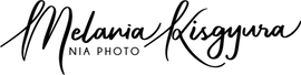 Handwritten logo of Nia Photo