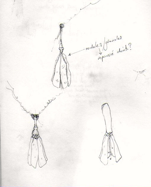 Lily pod sketch