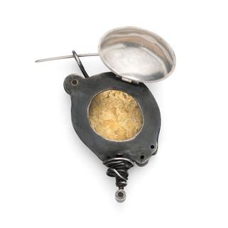 Black Tor Locket Brooch No.2