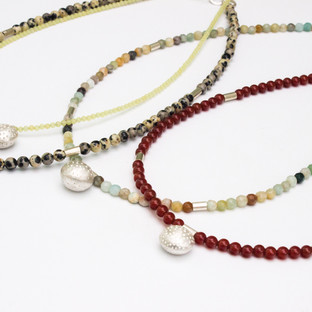 Dotty Sphere Necklaces