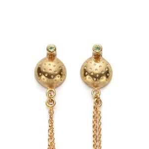 Orb Vermeil Posh Frock Earrings  £145