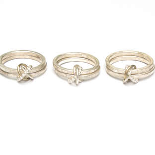 Eternity Knot Rings.  From £95