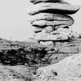 The Cheesewring, Bodmin Moor.