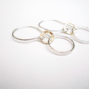 Double Linked Circle Drops £45