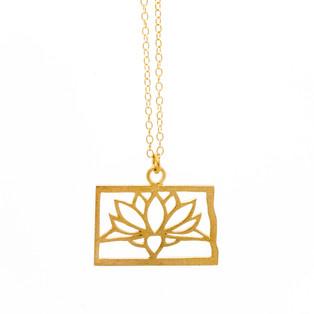 Lotus Leaf Pendant