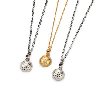 Orb Necklaces £110 silver £160 vermeil