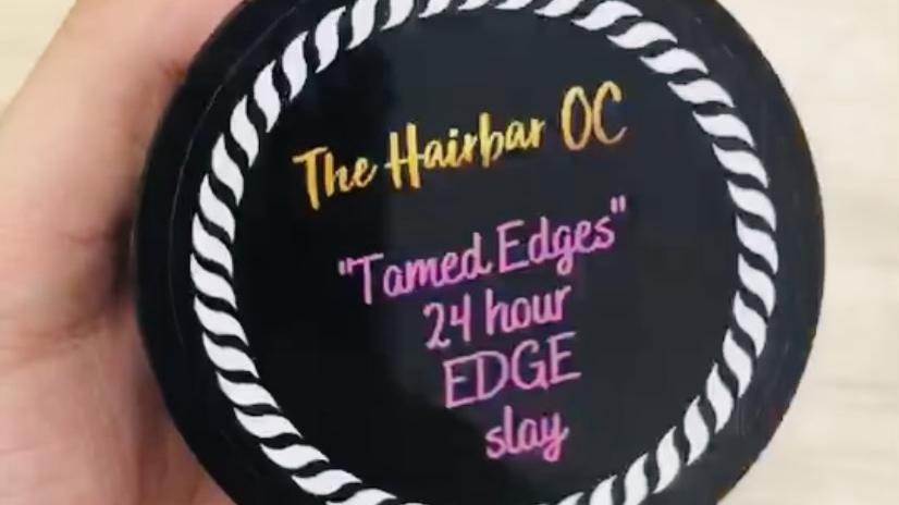 """""""Tamed Edges"""" 24 hour edge tamer"""
