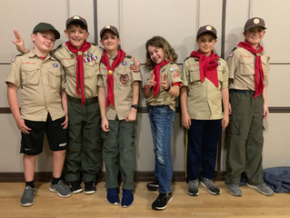 Welcome New Scouts and New SPL