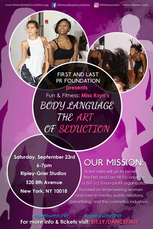 FLPR Fitness Fundraiser Flyer