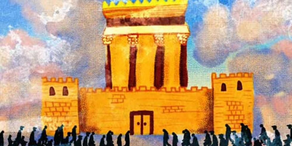 Charla: Los planos del Templo