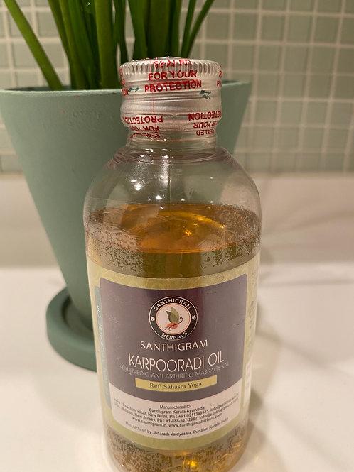 カルプーラオイル (Karpooradi oil)