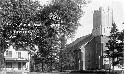 Congregational Church and Parsonage (1a)
