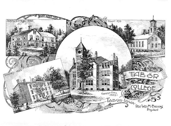 Tabor College Drawing 1890-91 (1a-1) Col