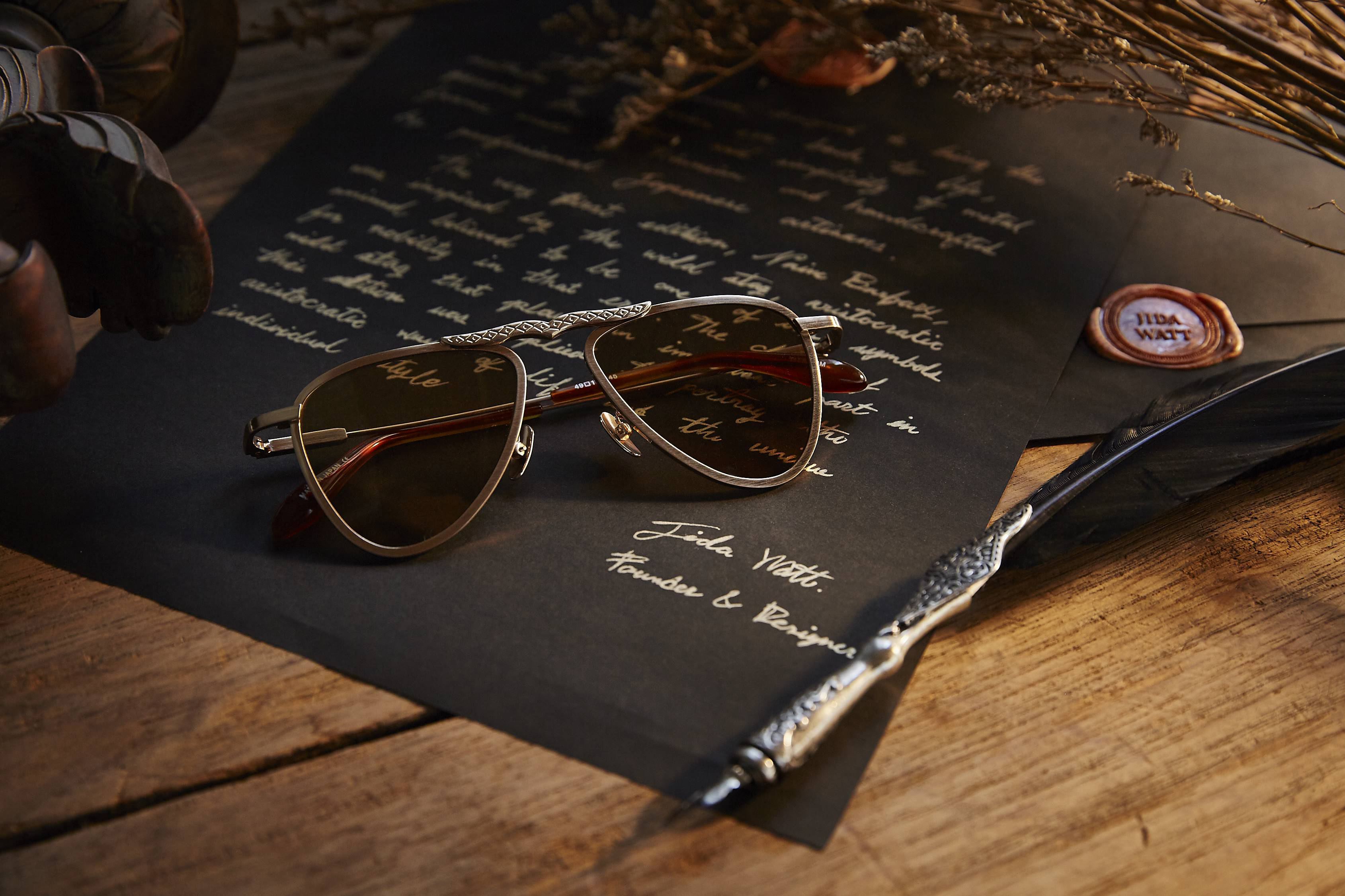 JIDA WATT eyewear luxury sunglasses