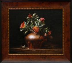 Western Australian Wild Roses in Copper