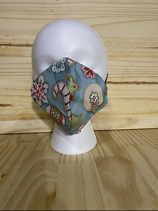 Holiday Cookie adult mask