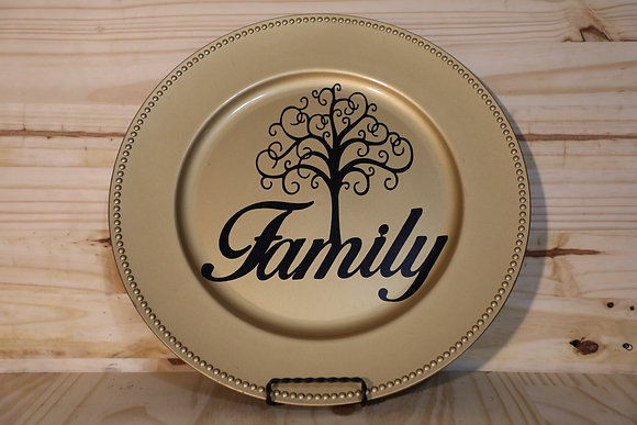Family Decorative Plate