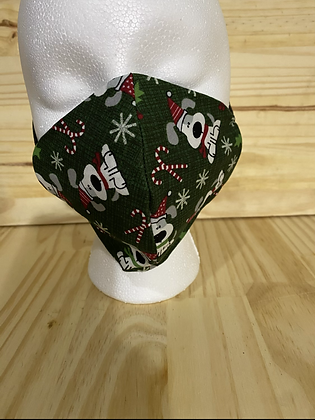 Holiday puppy adult mask