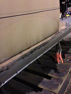 New sill being welded.jpg