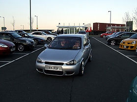 Corsa B smoothed front nd and badboy bon