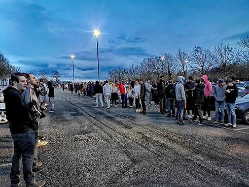 Carpark full may 2021 crowd SCS.jpg