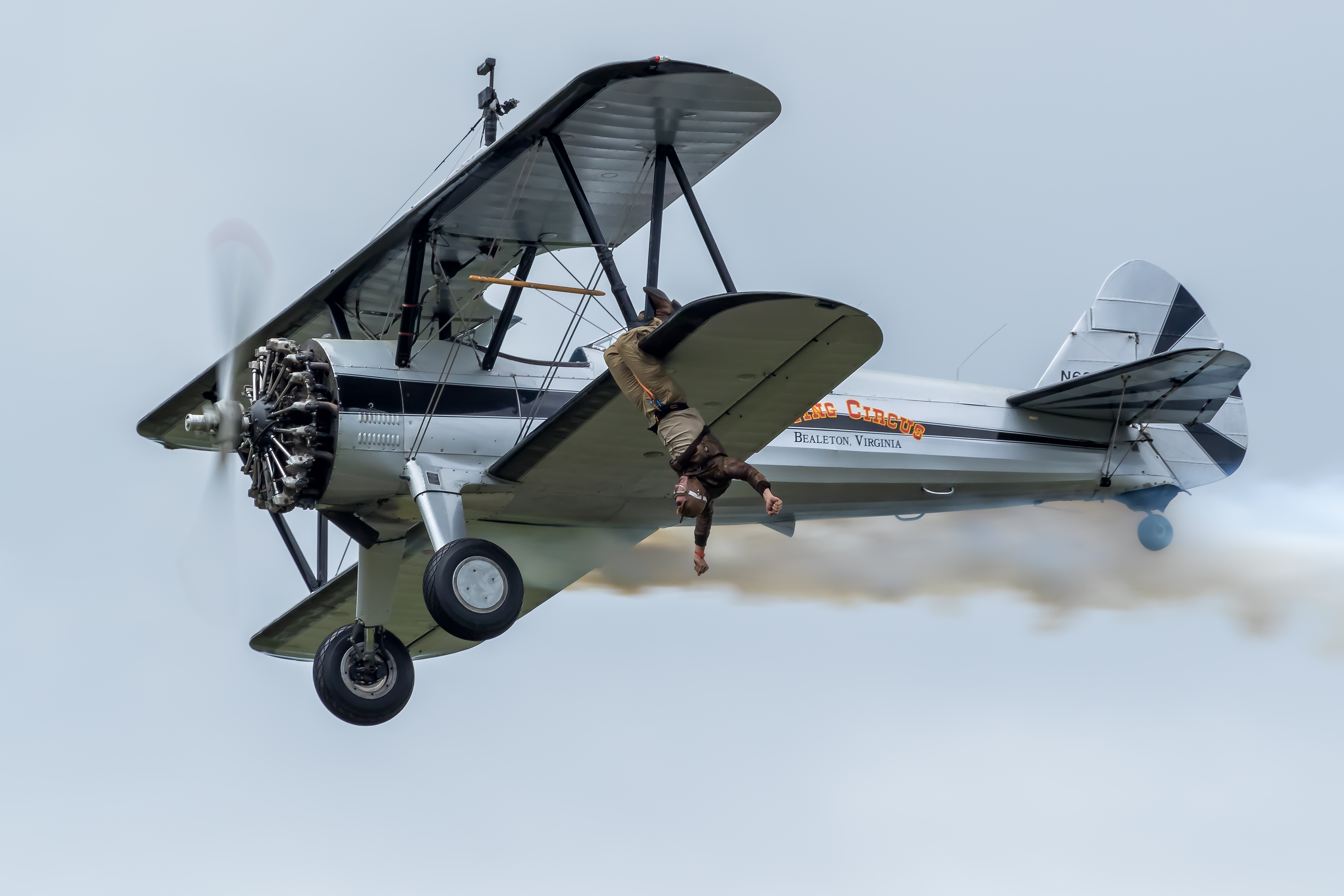 The Flying Circus Wingwalkers