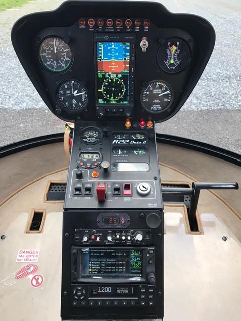 Robinson R-22 Beta II IFR Trainer - $280/Hour