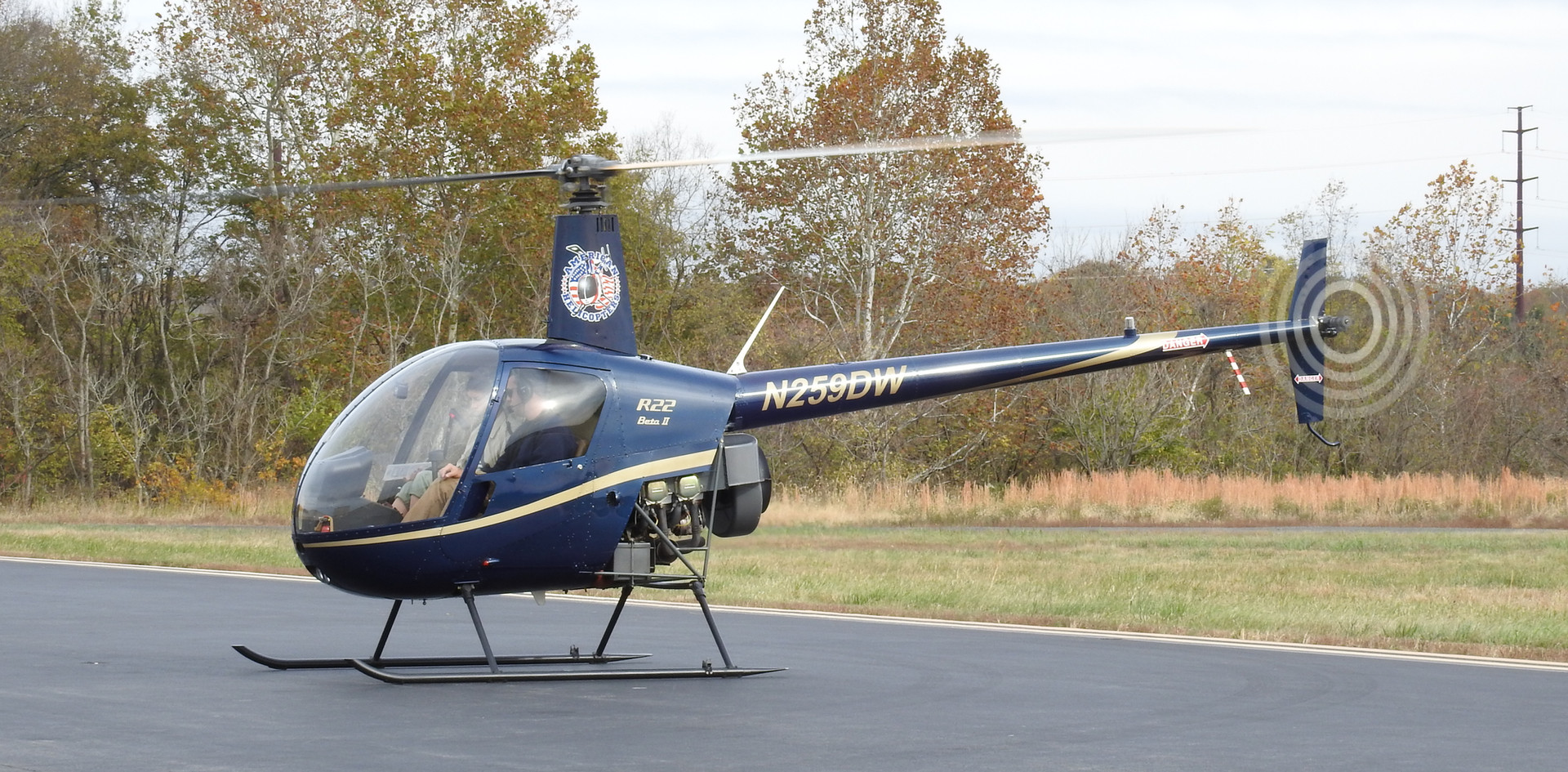 Robinson R-22 Beta II - $265/Hour