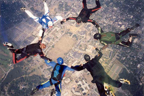 3rd Dimension Parachute Team