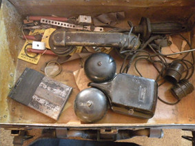 Antique Field Telephone