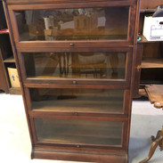 Barrister's Bookcase in Mahogany