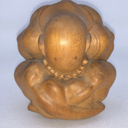 Beautiful carved statue