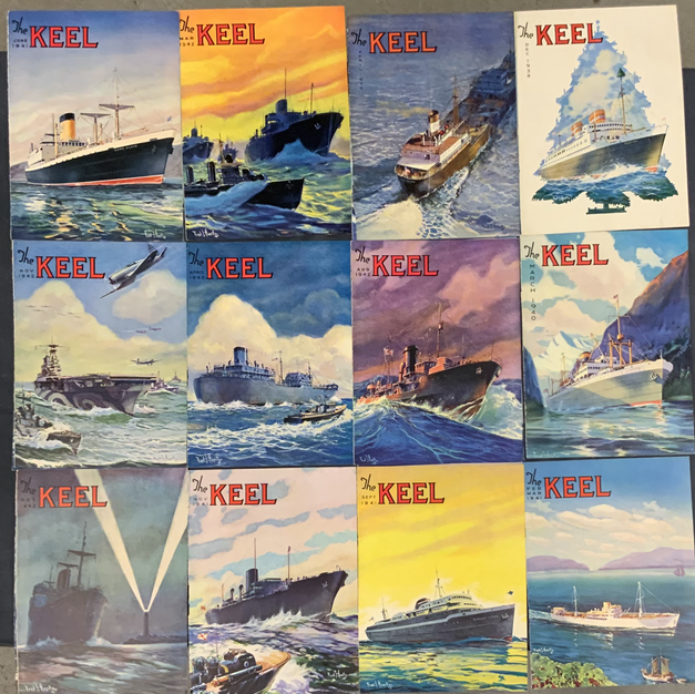 WWII Era Magazine Covers