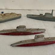 Tootsie Toy Battleships & Subs
