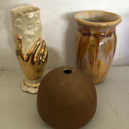 We have a lot of pottery too!