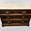 Thumbnail: Victorian Marble Top Walnut Chest of Drawers