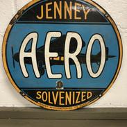 Jenney Aero Antique Sign