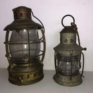 Pair of Railroad Lanterns