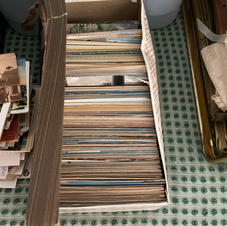 Box of postcards