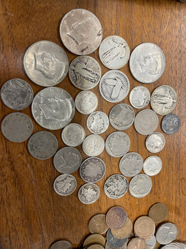 Silver US coin lot.jpeg