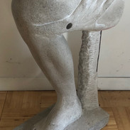 2 ft tall marble sculpture
