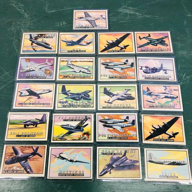 Vintage Airplane cards