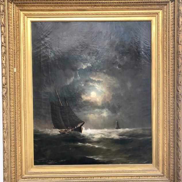 Ernest Baker Oil Painting