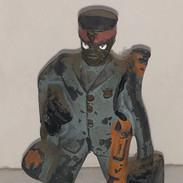Antique Cast Iron Bel Hop toy