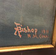 Litho Signature A F Bishop