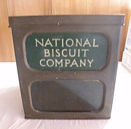 National Biscuit Co Antique Tin