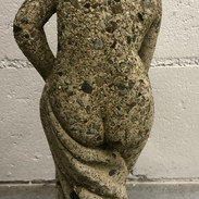 Early Nude Concrete Statue