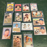 We have several lots of sports cards.