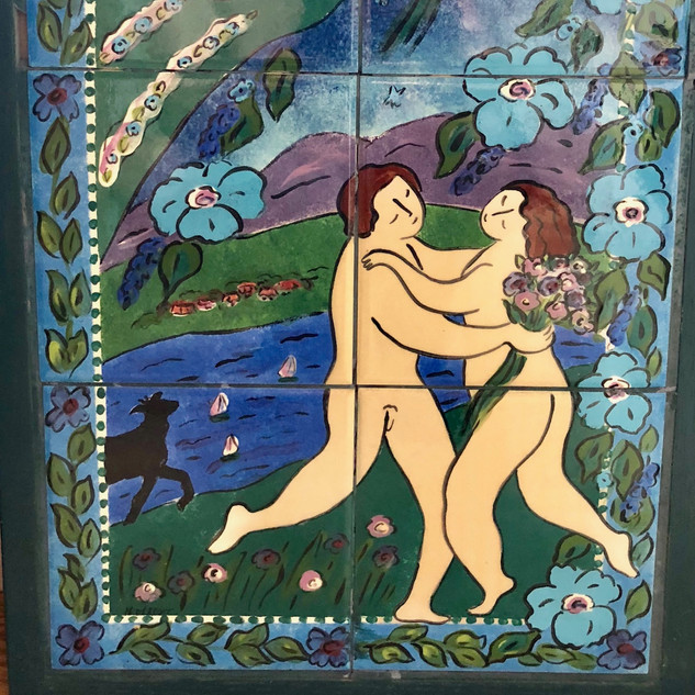 H.P. Adam & Eve Tile Work