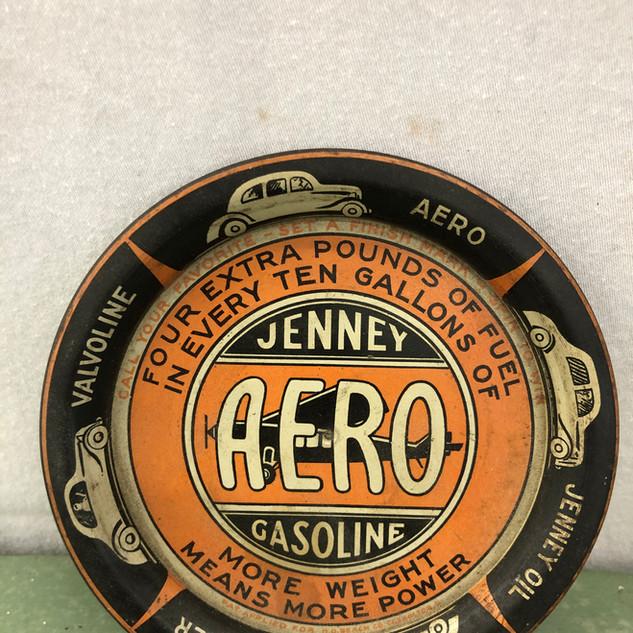 Rare Jenney Aero Gasoline Tip Tray